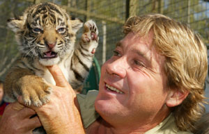 Steve and Tiger